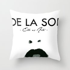 SOL SUPPORT TEE Throw Pillow