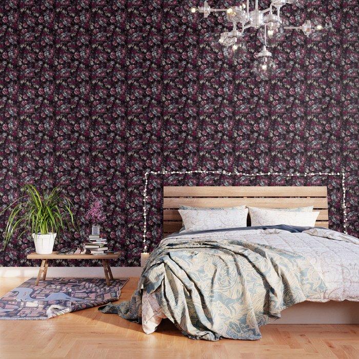 Night Flowers Wallpaper