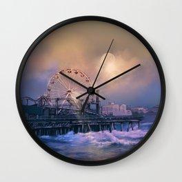 summer landscape Wall Clock