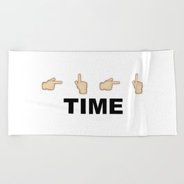 Limiter Time Beach Towel