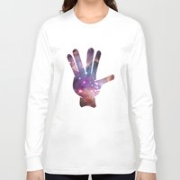 nebula Long Sleeve T-shirts featuring Nebula by mailboxdisco