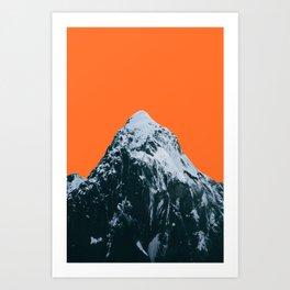 MH Orange Art Print