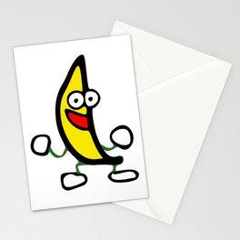 Dancing Banana Stationery Cards