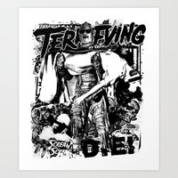 horror Art Prints featuring Horror by HEADBANGPARTY