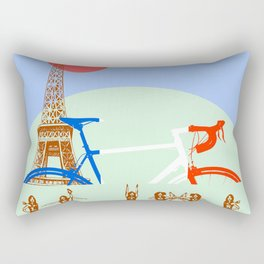 Le tour Rectangular Pillow