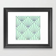 Art Deco Clams Framed Art Print