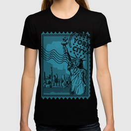 New York City Stamp T-shirt