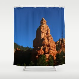 Red Rock Canyon Rockformation Shower Curtain