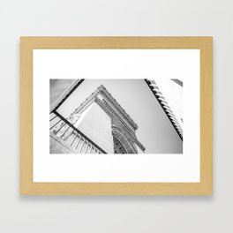 Champs-Élysées Framed Art Print
