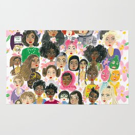 Women of the world Rug