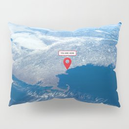 You are here: Earth orbit Pillow Sham