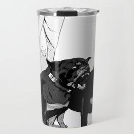 Fashion Rottweiler  Travel Mug