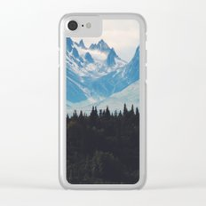 Mountain Valley Clear iPhone Case