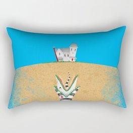 Recently Deceased Rectangular Pillow