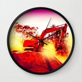 Heavy Duty Earth Works Wall Clock