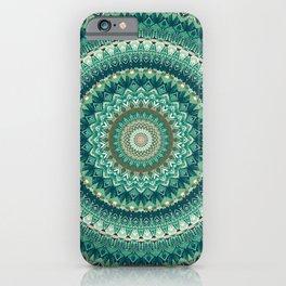 Nature's Embrace Mandala iPhone Case