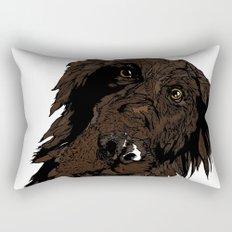 Flatcoated Rectangular Pillow