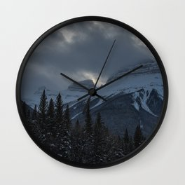 Rocky Mountains Two Wall Clock