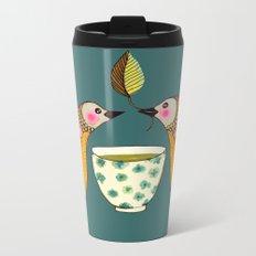 a tea for two Metal Travel Mug