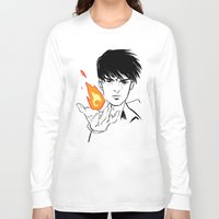 fullmetal Long Sleeve T-shirts featuring Flames  by IndyFalcon