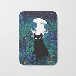 mystical cat Bath Mat