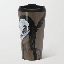 Feather and Bone Travel Mug