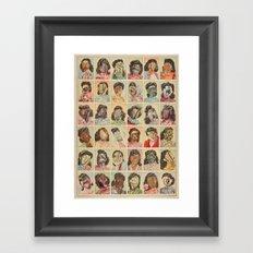 FRIDAY THE THIRTEENTH Framed Art Print