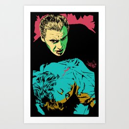 The Terrifying Lover Art Print
