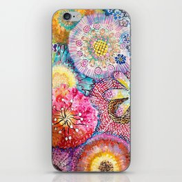 Flowered Table iPhone Skin