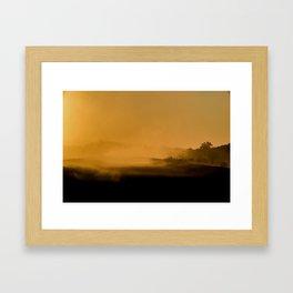 Road to Alice Framed Art Print