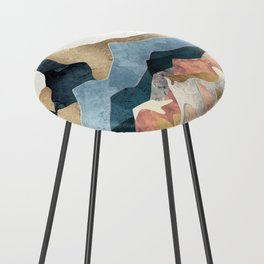 Golden Peaks Counter Stool