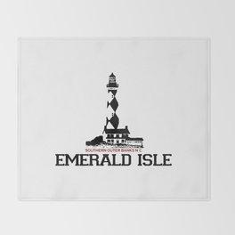 Emerald Isle - North Carolina. Throw Blanket