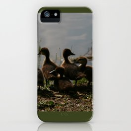Siblings iPhone Case