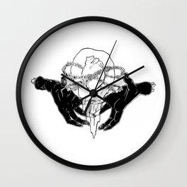 The Anatomy of Love Wall Clock