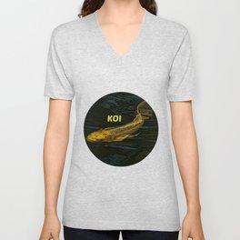 Koi Fish Unisex V-Neck