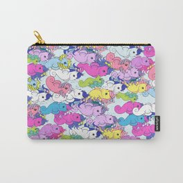 g1 my little pony sea pony collage Carry-All Pouch