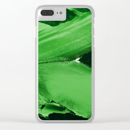 Celery Stalks Clear iPhone Case