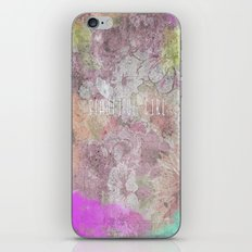 BEAUTIFUL GIRL iPhone & iPod Skin
