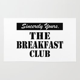 THE BREAKFAST CLUB SINCERELY YOURS Rug