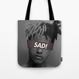 XXXTENTACION SAD! DESIGN Tote Bag