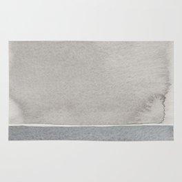 Grey watercolor Rug