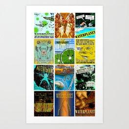 WATERPLANET: GigPosters1 Art Print