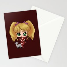 Chibi Tiara Stationery Cards