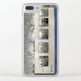 Amsterdam in winter—No.3 Clear iPhone Case