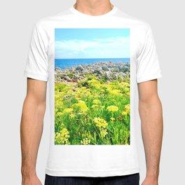 Golden Rocky Field T-shirt