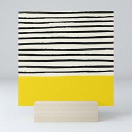Sunshine x Stripes Mini Art Print