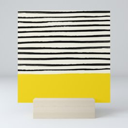 Sunshine x Stripes Mini Art Print