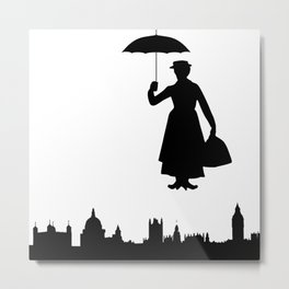 marry poppins Metal Print