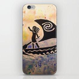 We Were Voyagers iPhone Skin