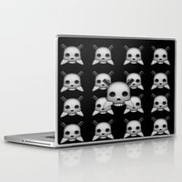 skeletor Laptop & iPad Skins featuring Skeletor by Mountain View Art